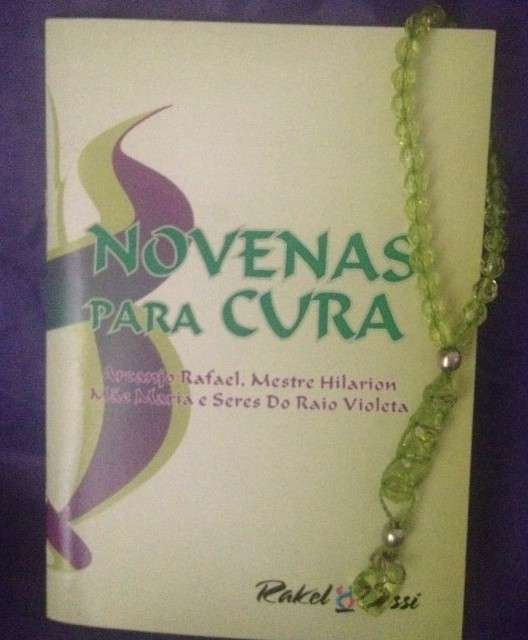 NOVENAS PARA CURA – ARCANJO RAFAEL,MESTRE HILARION, MÃE MARIA E SERES DO RAIO VIOLETA