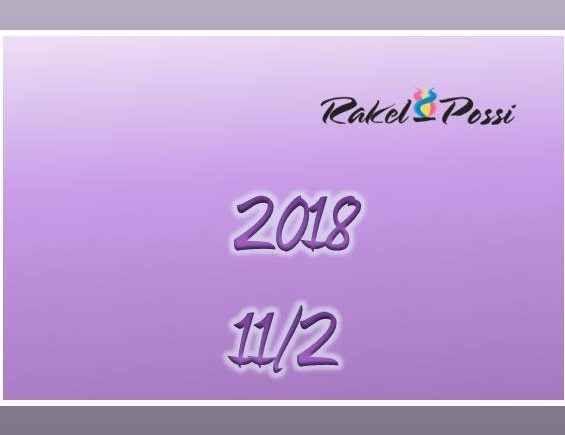2018 – NUMEROLOGIA '11' – '2'